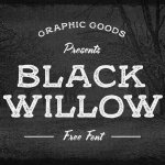 Black Willow Font