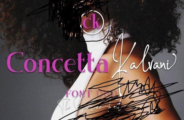 Concetta Kalvani Signature Font