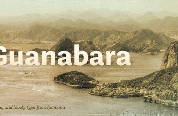 Guanabara Sans Font