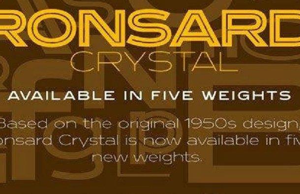 Ronsard Crystal Font