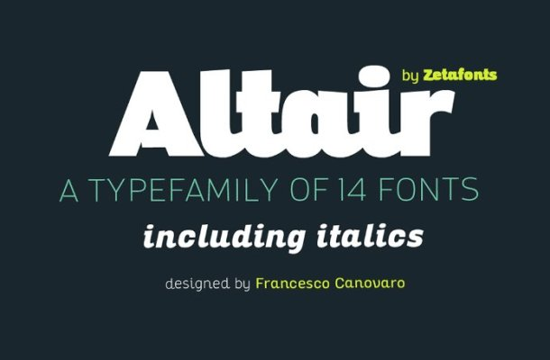 Altair Font Family