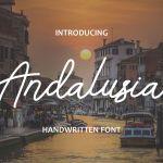 Andalusia Handwritten Font