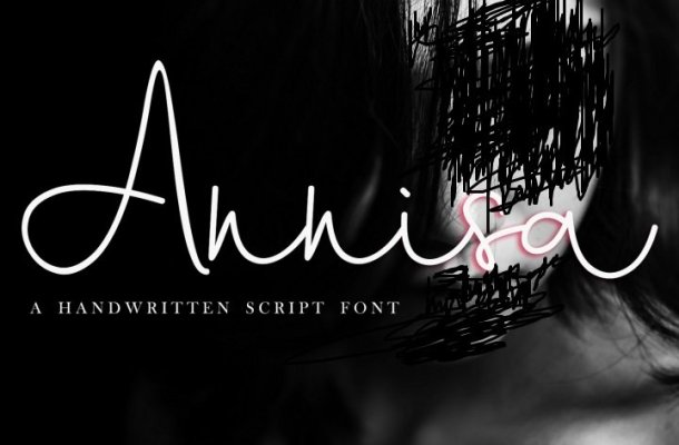 Annisa Script Font