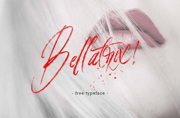 Bellatrix Handbrush Font