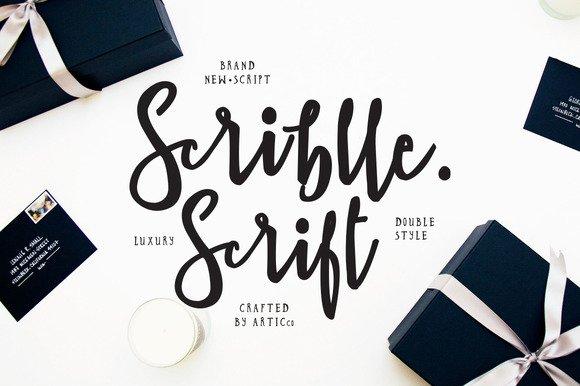 Brush Script Font – Scriblle