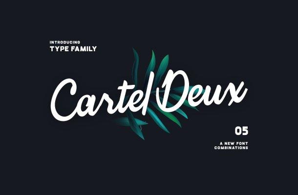 Cartel Deux Script Font Family