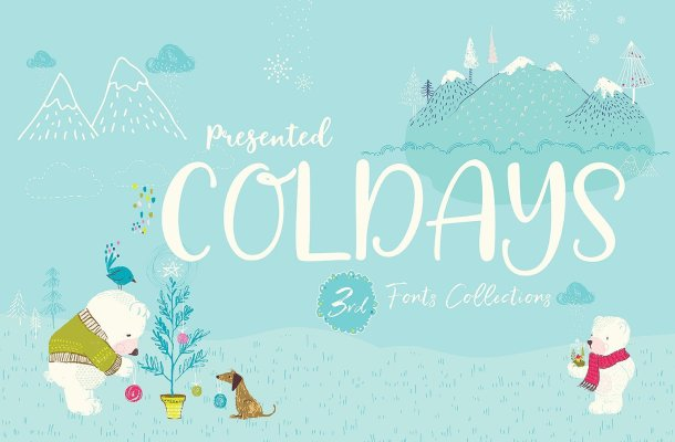 Coldays Memories Script Font