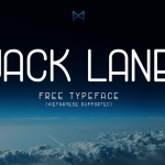 Jack Lane Typeface