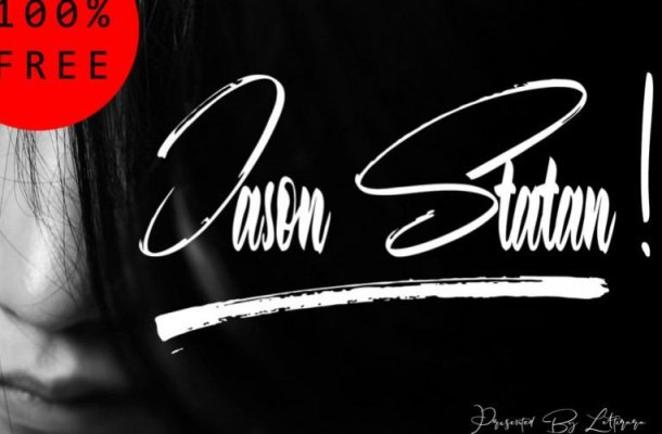Jason Statan Handbrush Font