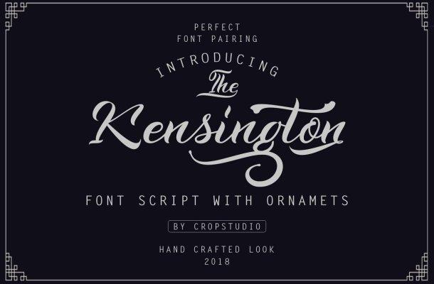 Kensington Calligraphy Font
