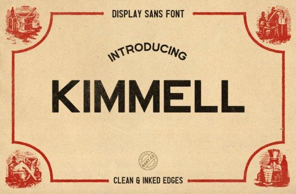Kimmel Font