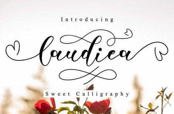 Laudiea Script Font