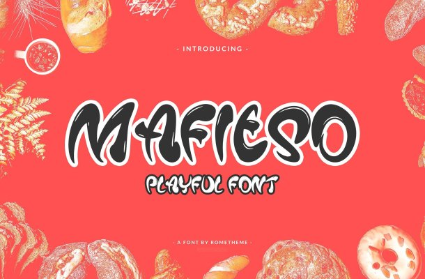 Mafieso Playful Font
