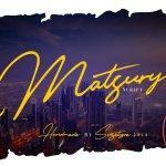 Matsury Script Font