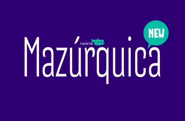 Mazurquica Typeface
