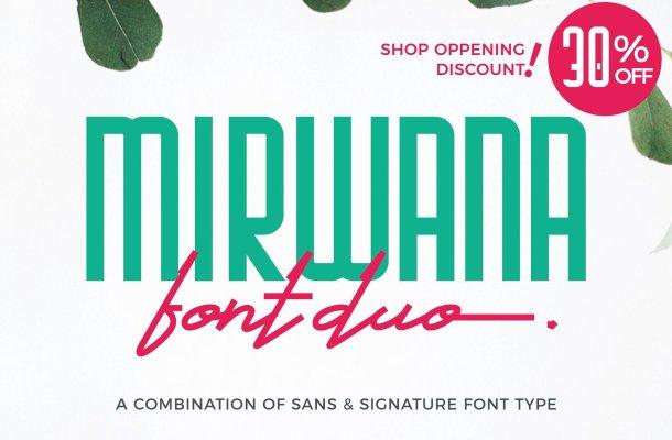 Mirwana Font Family