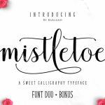 Mistletoe Script Font