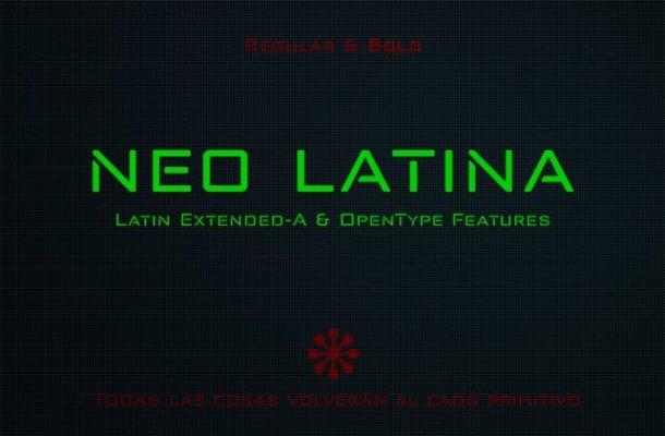 Neo Latina Font