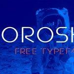 Orosko Typeface