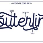 Routerline Rough Typeface