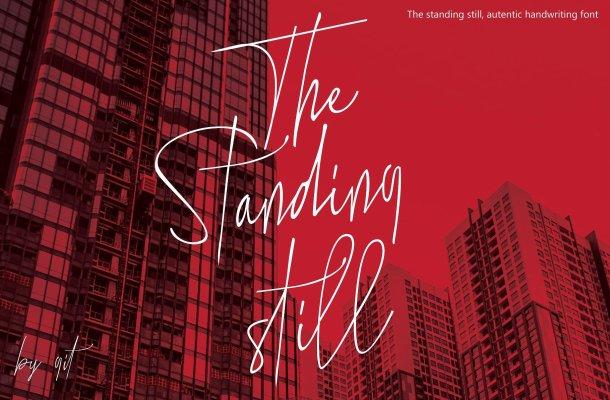 The Standing Still Script Font