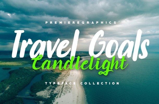 Travel Goals Script Font