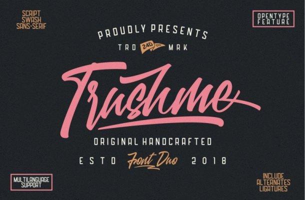 Trushme Font Duo