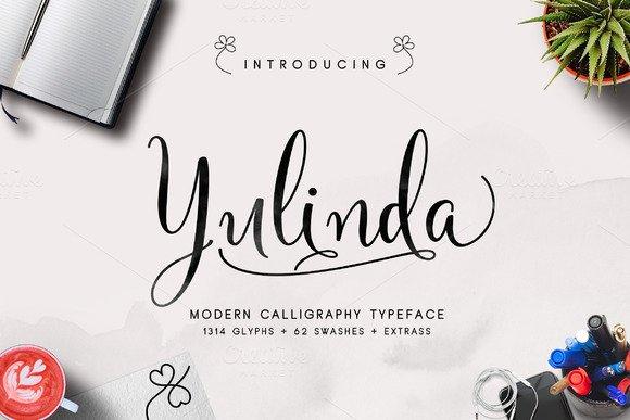 Yulinda Script Font