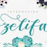 ZELIFA Script Font