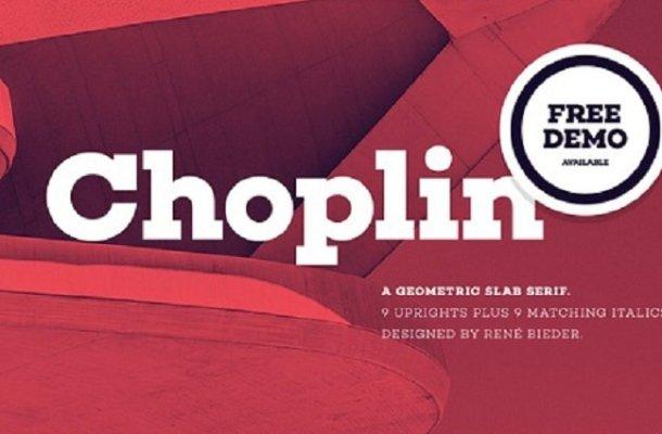 Choplin Typeface