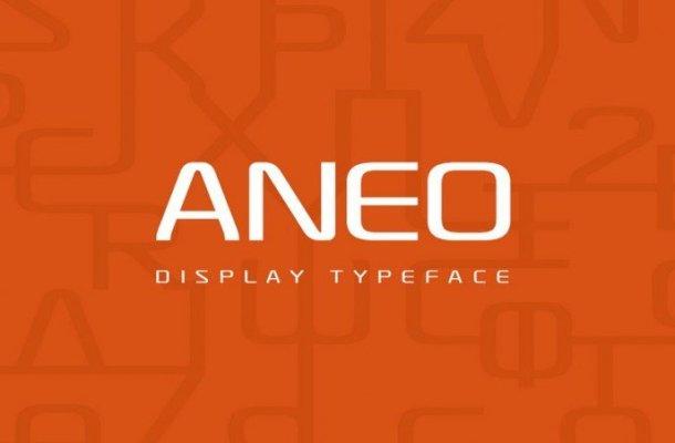 Aneo Font Family