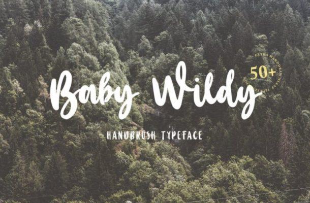 Baby Wildy Handwritten Font