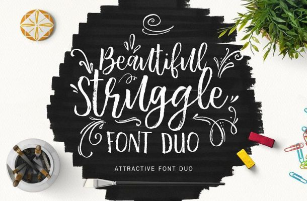 Beautiful Struggle Font
