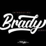Brady Script Font