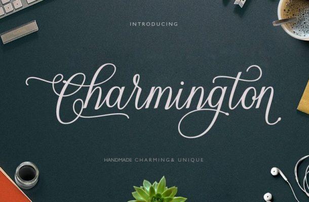 Charmington Script Font