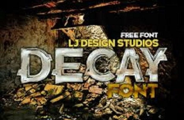 Decay Free Font