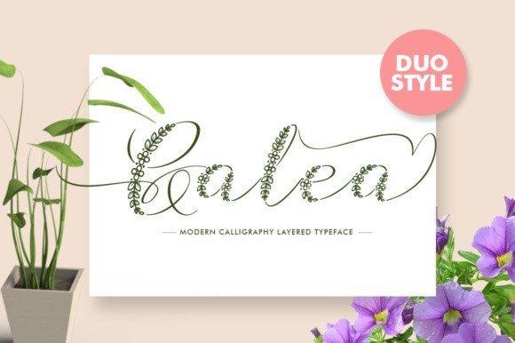 Galea Script Font