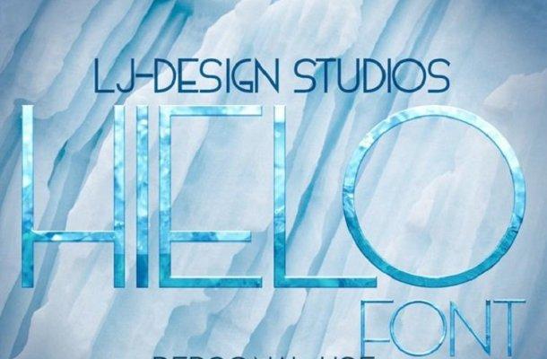 HIELO font