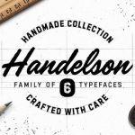 Handelson Font Family