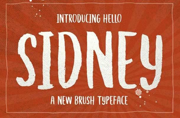 Hello Sidney Font
