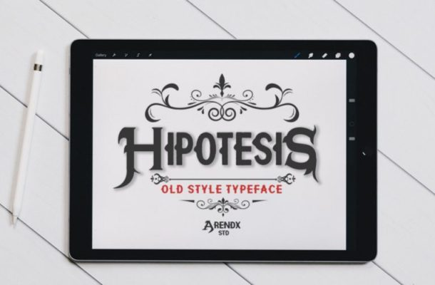 Hypothesis Display Font