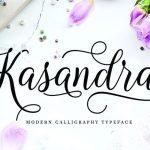 Kasandra Calligraphy Font
