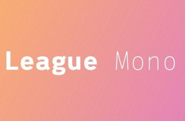League Mono Font Family