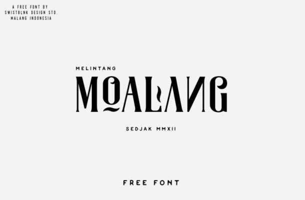 MOALANG TYPEFACE