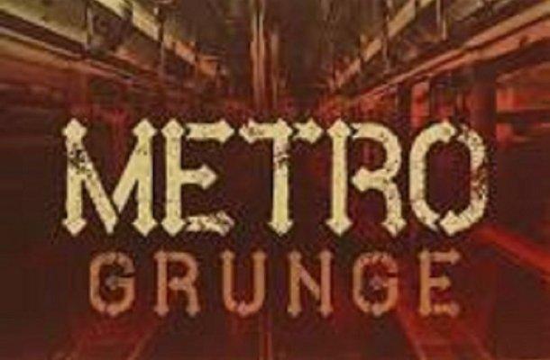 Metro Grunge Font