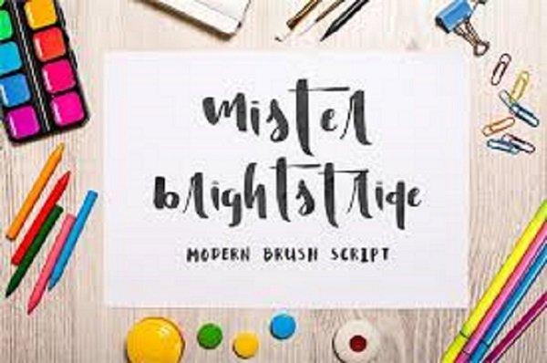 Mister Brightstride Font