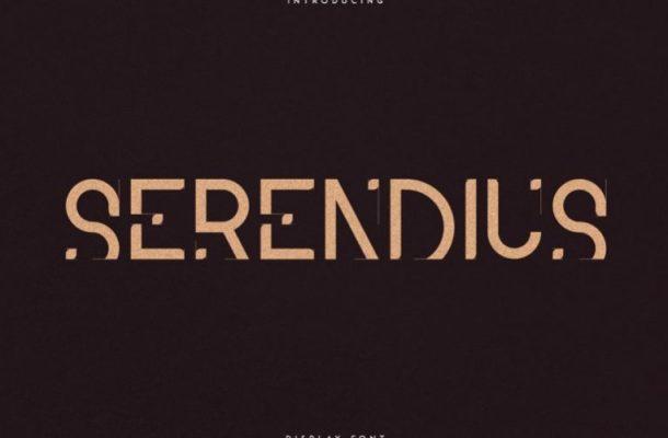 Serendius Display Font