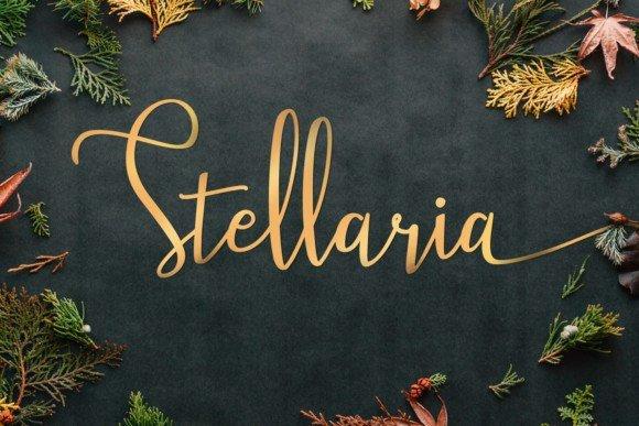 Stellaria Handwritten Font