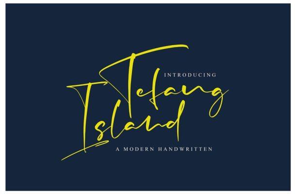 Tefang Island Font
