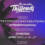 Thillends Script Font